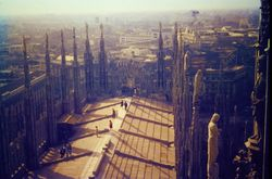 450 Roof view Milan Cathedral