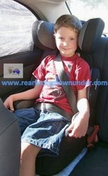6 years old Infa-Secure Vario Booster Seat