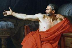 Drouais, Marius, detail, Louvre