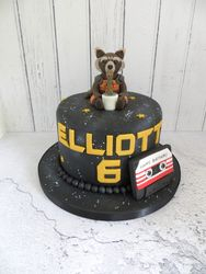 Guardians of the Galaxy Cake