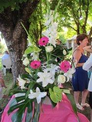 Bouquet du vin d'honneur.