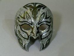 """Fake """"granite"""" latex mask"""