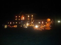 Another view of Tye's Haunted House