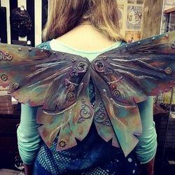 Handmade wearable wings