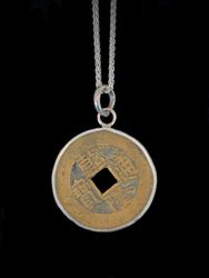 Lucky Chinese coin necklace