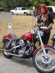 A pretty Motorcycle winner (bike included)