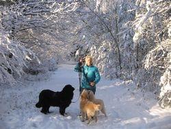 Marjolein met honden