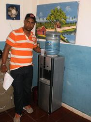 New water cooler