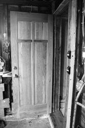 White Oak Shop Door