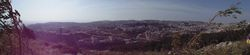 Panoramic View Over Israel