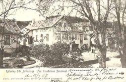 Strand Hotell (Fru Troedssons pensionat) 1907