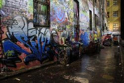 Hosier lane Melb