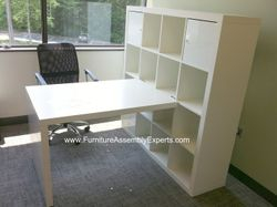 ikea expedit desk installation service in annapolis md