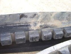 """J.D. 8000T 25"""" Camoplast 5500 Series"""