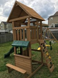 Big Backyard F23220 Windale swing set assembly in ellicott city Maryland