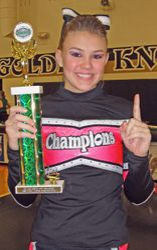 Alexis McDonald-Junior Best Cheerleader