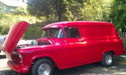7. 56 Chevy Panel Van