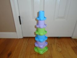 Stack n Nest Cups Baby Stacking Toy - $5