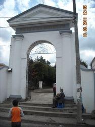 Cayambe Cemetary Entrance