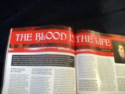 Title Banner of The Blood is the Life in Starburst Magazine #475: The Mandalorian Collectors¿ Edition at The Wombatorium 2.0: A Capital Idea