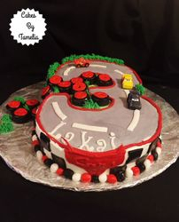 Cars Number 3 Cake