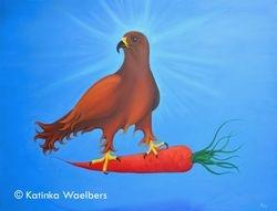Vegetarian hawk