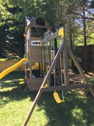 KidKraft Devonshire swing set assembly in arlington Virginia