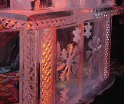 SNOWFLAKES ICE BAR