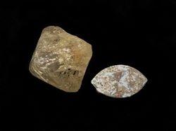 Raw vs Cut Diamond