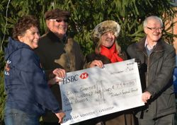 Donation from Dunchurch Festival Group