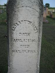 Elizabeth (Garner) Isett (1816-1889)