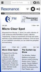 Micro Clear Spot show