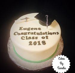 Cordova High Graduation Cakes