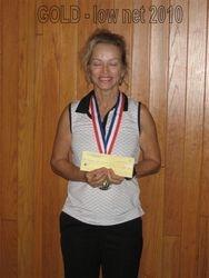 Gayle Denkenson- Gold Flight, Low Net 2010