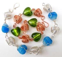 Hearts & Knots Bracelet