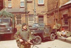 Frank Bellizzi 9Troop C Coy Belfast 1972