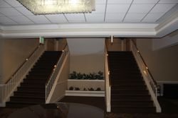 Stairwell to the main floor