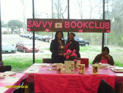 Savvy Saluting Author Monica Carter