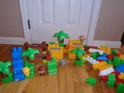 MegaBloks First Builders Safari Play Set - $20