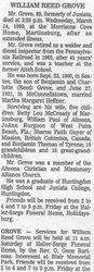 Grove, William 1990