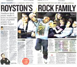 ROYSTON'S ROCK FAMILY: