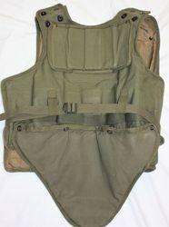 1950's style body armor.