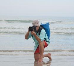 Sur la plage - On the beach