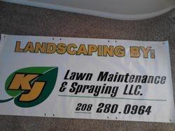 KJ Lawn Banner