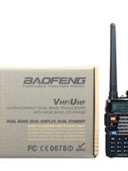 UHF VHF Dual Display Walkie Talie