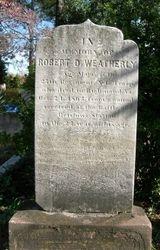 Cpl. Robert D. Weatherly