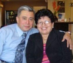 Ana Arevalo y su esposo Diac. Jose Arevalo