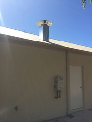 Commercial Rangehood ducting and motor install