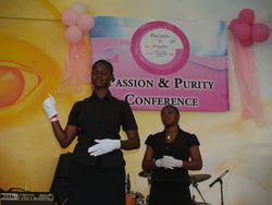 Our PP Girl's Conference -Wolmer's - Sept..2008