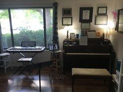 Piano and Keyboard setup